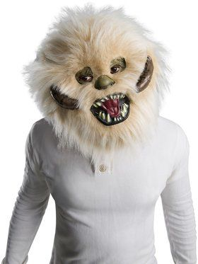 Star Wars Classic Wampa Furry Mask Accessory