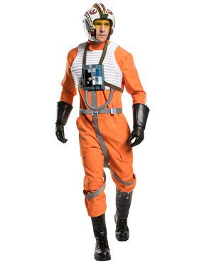 Star War's Classic X Wing Fighter Grand Heritage Men's Costume