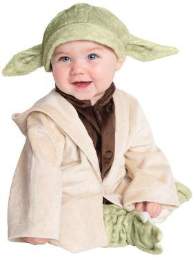 Star Wars Classic Yoda Plush Deluxe Costume for Infants