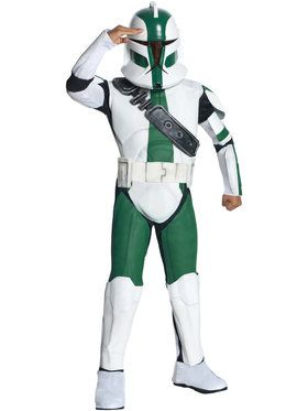 Star Wars Clone Wars Commander Gree Child Costume Sale Size Small