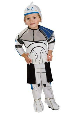 Star Wars Clone Wars E-Z on Romper Rex T for Halloween