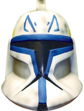 Star Wars Villain Collection: Clone Trooper Captain Rex 2-piece Mask