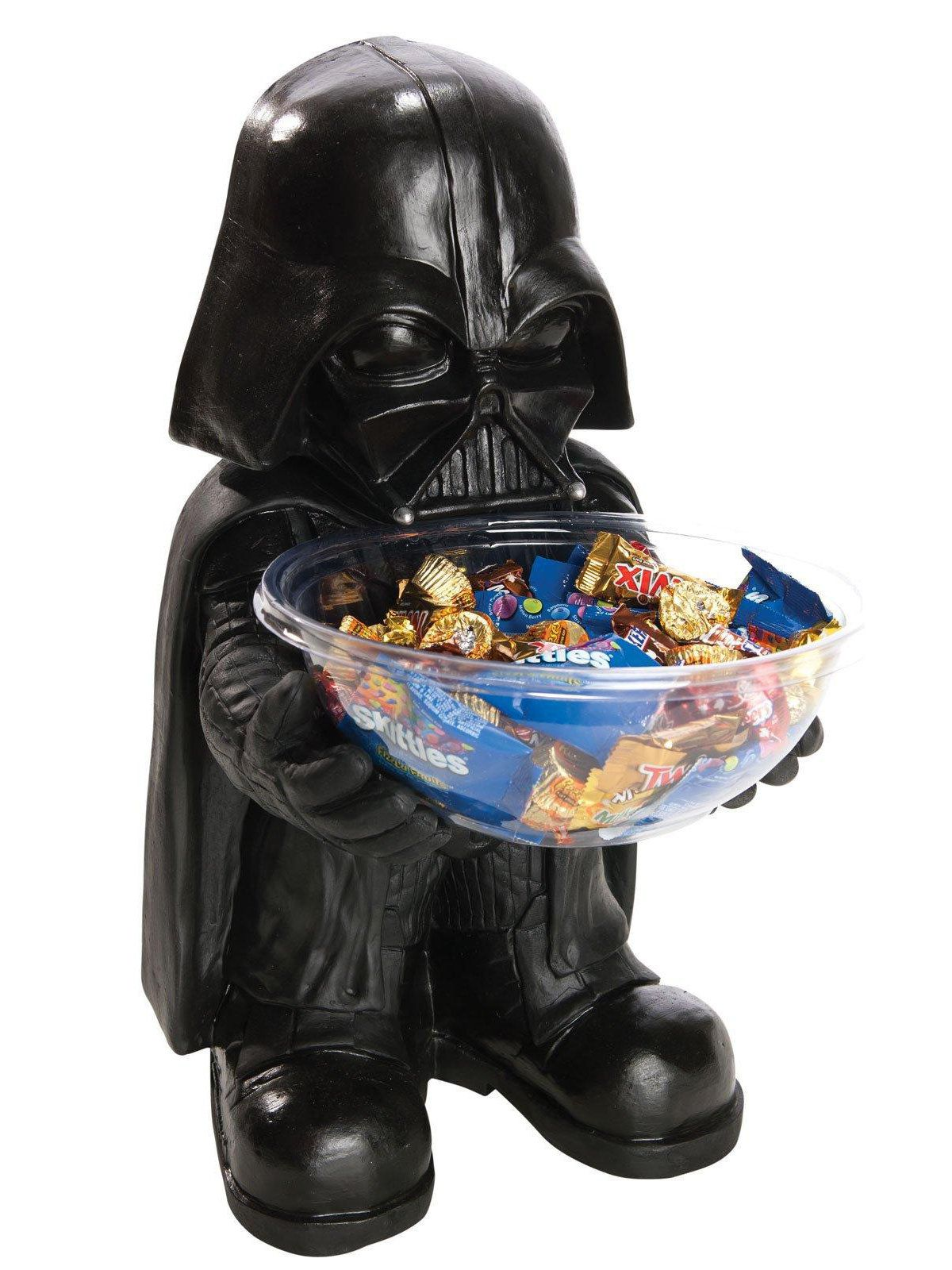 star wars - darth vader candy bowl and holder - halloween
