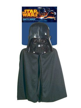 Cape and Mask Darth Vader Costume Set