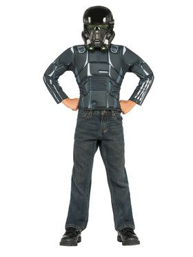 Star Wars Death Trooper Deluxe Costume Top Set