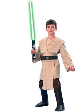 Star Wars Deluxe Jedi Boy's Costume