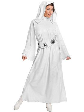 Star Wars Deluxe Princess Leia Women's Costume