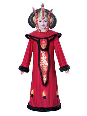 Star Wars Deluxe Queen Amidala Costume For Children
