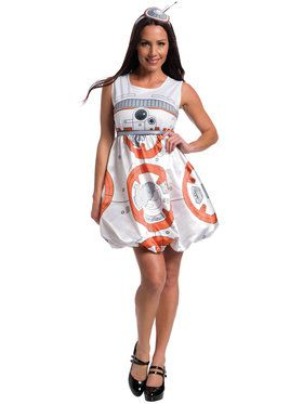 Star Wars: The Force Awakens Adult BB-8 Romper Costume