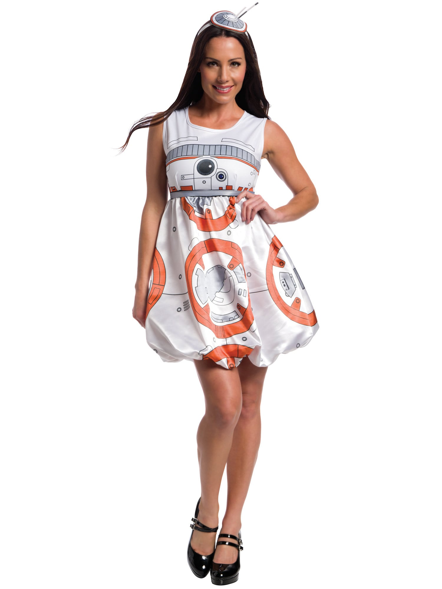 star wars: the force awakens adult bb-8 romper costume - womens