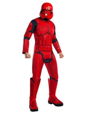 Adult Deluxe Star Wars Episode IX Sith Trooper Costume
