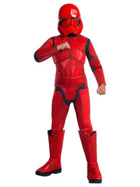Children's Deluxe Star Wars Episode IX Sith Trooper Costume