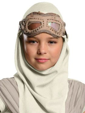 Star Wars Episode VII Girl's Rey Eye Mask & Hood