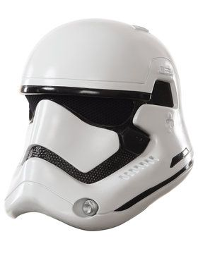 Star Wars Episode VII Kids Storm Trooper 2 Piece Helmet