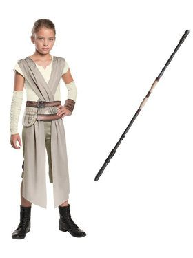 Star Wars Episode VII Rey Girls Costume Kit