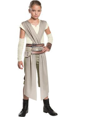 Star Wars Episode VII Rey Girls Costume