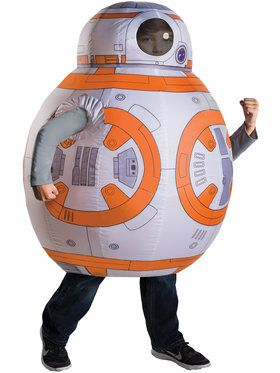 Star Wars Episode VII: The Force Awakens - Deluxe BB - 8 Inflatable Boy's Costume