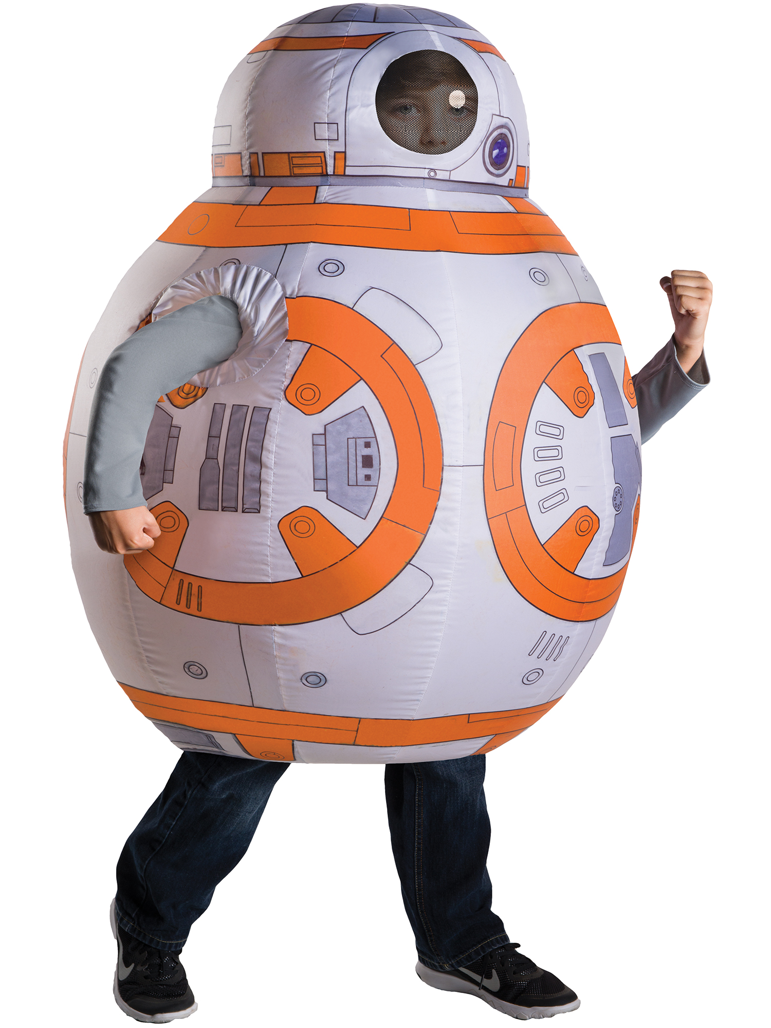 Star Wars Episode VII: The Force Awakens - Deluxe BB - 8 Inflatable Costume for Kids 630009R-OS