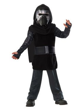 Star Wars Episode VII: The Force Awakens Kylo Ren Action Suit Boys Costume