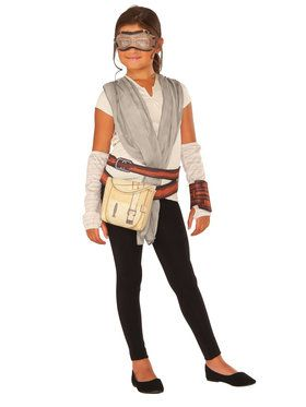 Star Wars Episode VII: The Force Awakens Rey Dress Up Set Girls Costume