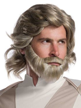 Star Wars Episode VIII - Luke Skywalker Wig and Beard Set