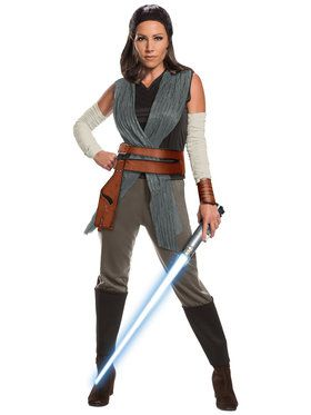 Star Wars Episode VIII - Deluxe Womens Rey Costume