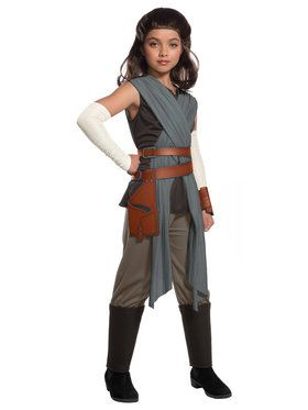Star Wars Episode VIII - Deluxe Girl's Rey Costume