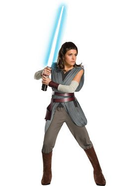 Star Wars Episode VIII - Super Deluxe Womens Rey Costume