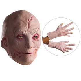 Star Wars Episode VIII: The Last Jedi - Supreme Leader Snoke Vinyl Mask And Latex Hands