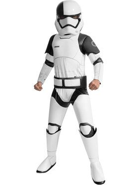 Star Wars Episode VIII - Super Deluxe Child Executioner Trooper Costume