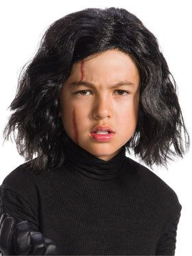 Star Wars Episode VIII - Kylo Ren Wig with Scar Tattoo
