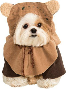 Star Wars - Ewok Dog Costume for Larger Dogs