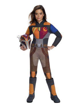 Star Wars: Forces Of Destiny Deluxe Sabine Wren Costume for Girl
