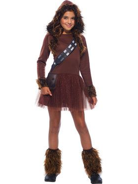Star Wars: Classic Chewbacca Costume for Girls