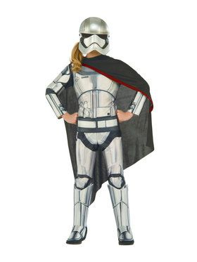 Star Wars Captain Phasma Girls Deluxe Costume