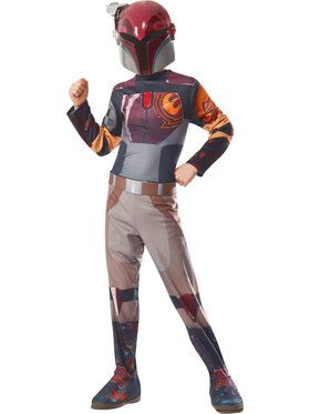 Star Wars Rebels Kid's Sabine Costume with Mask