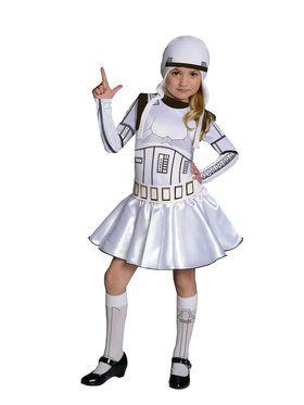 Star Wars Girls Stormtrooper Costume