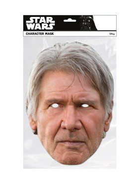 Han Solo Star Wars Face Mask