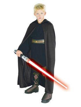 Kids Sith Robe Hooded Costume