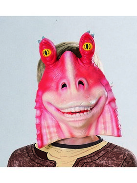 Star Wars Jar Jar Binks 3/4 Mask