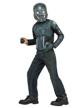 Star Wars K-2SO Deluxe Costume Top Set for Halloween