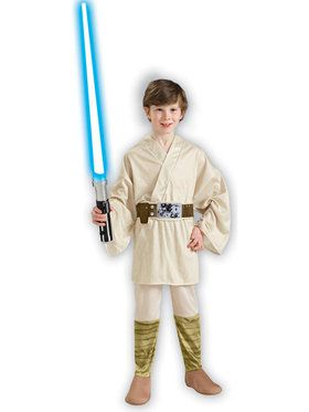 Star Wars Luke Skywalker Costume For Children