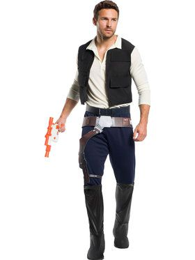 Star Wars: Classic Han Solo Costume for Men
