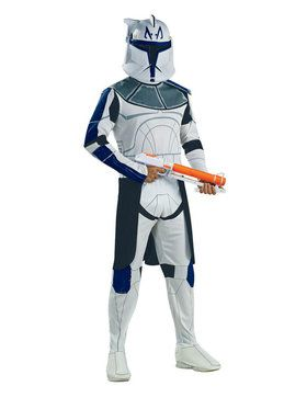 Adult Star Wars Clone Wars Captain Rex Costume