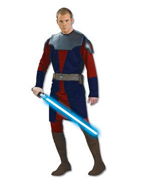Adult Star Wars Clone Wars Deluxe Anakin Skywalker Costume
