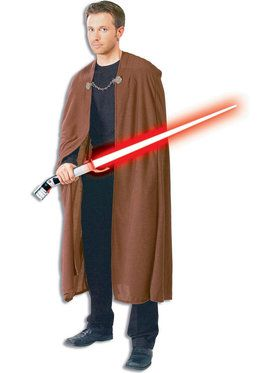 Star Wars Mens Dlx. Count Dooku Robe Costume