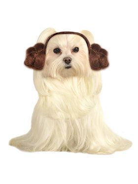 Star Wars Pet Dog Leia Buns Headwear
