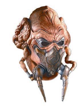 Plo Koon Latex Mask for Adults