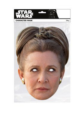 Princess Leia Star Wars Face Mask