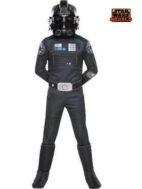 Star Wars Rebels Deluxe Tie Fighter Boys Costume